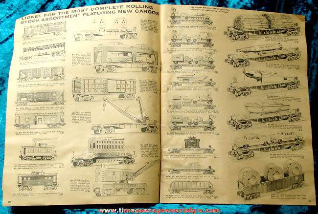 ©1959 Lionel Toy Train & Accessories Catalog