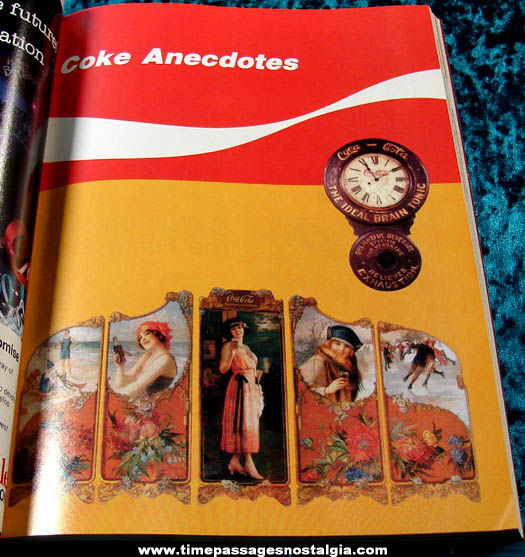 1986 Coca Cola 100th Anniversary Advertising Book