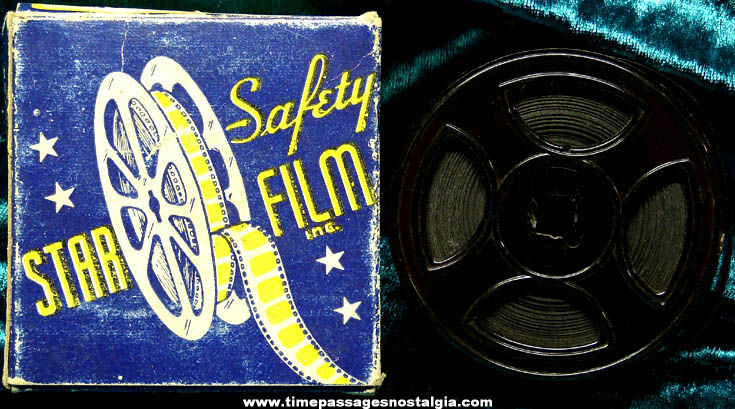 Old Boxed 16mm Snub Pollard At The Ringside Pathegrams Film Movie