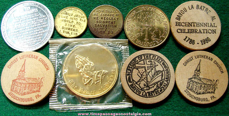 (9) Old Religion Related Token Coins
