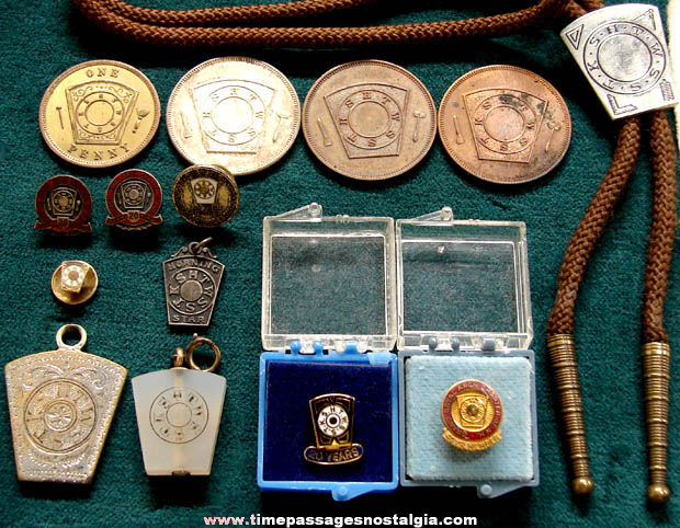 (16) Small Old Royal Arch Mason Fraternal Items