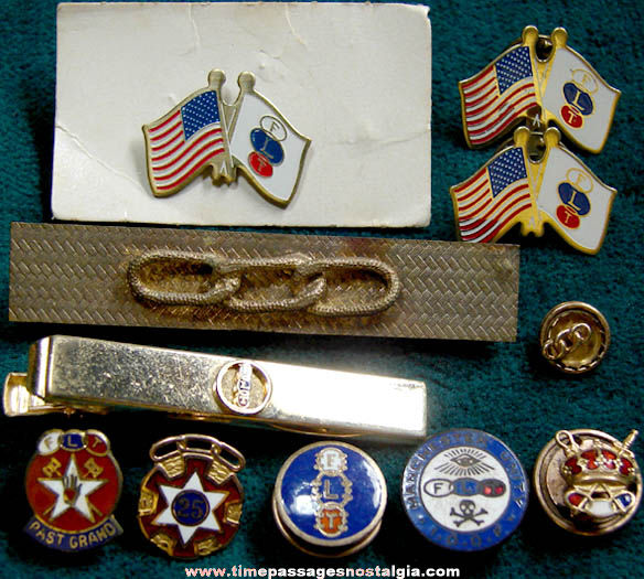 (11) Old Independent Order of Odd Fellows Fraternal Items