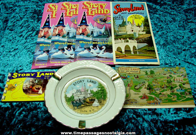 (7) Story Land New Hampshire Advertising Souvenir Items