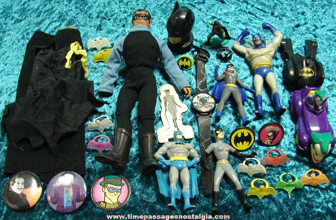 (30) Miscellaneous Batman Character Related Items
