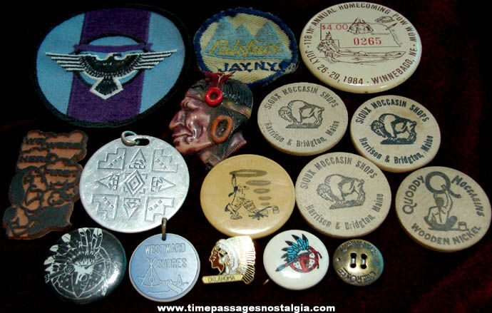 (16) Small Old Native American Indian Related Items
