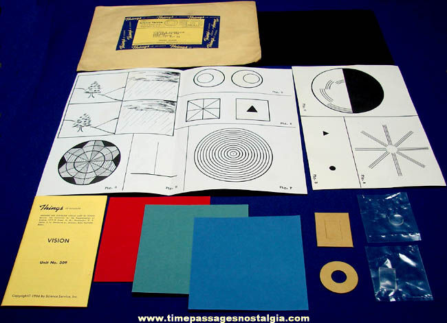 ©1966 #309 Vision Science Service Things of Science Kit