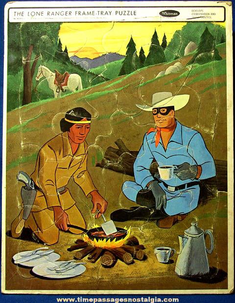 ©1967 Lone Ranger & Tonto Whitman Frame Tray Jigsaw Puzzle