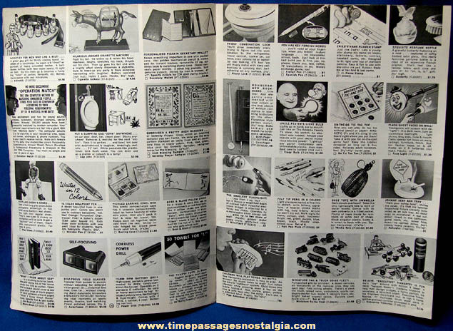 �1966 Spencer Gifts Novelty Gift Christmas Catalog