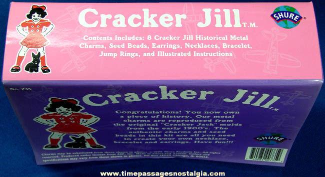 Unused ©1996 Cracker Jill Toy Box Edition Jewelry Making Kit