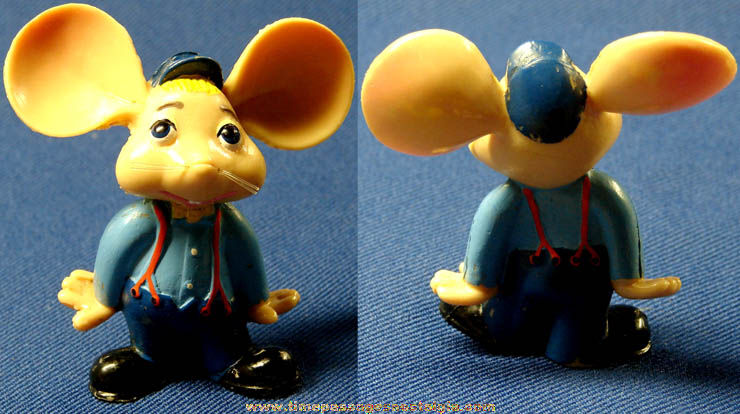 Small Topo Gigio Mouse Character Doll Toy Figure