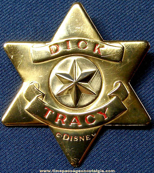 Dick Tracy Badge 121