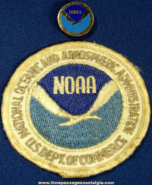 (2) Old National Oceanic and Atmospheric Administration NOAA Items