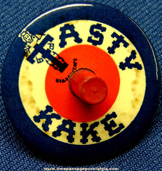 Old Tasty Kake Advertising Premium Spinning Top