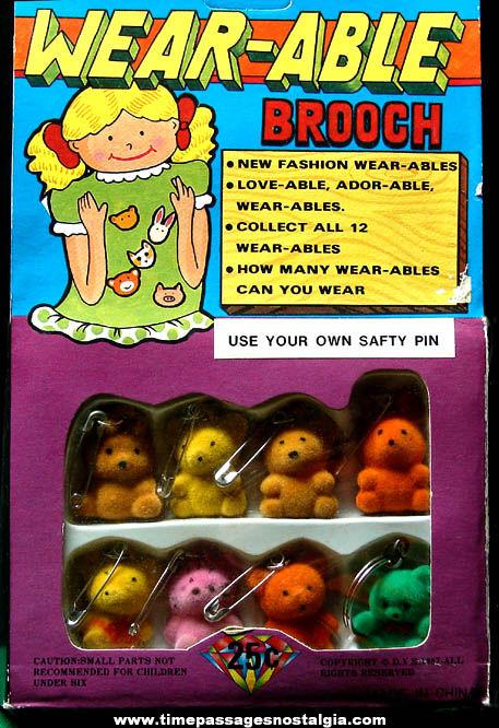 ©1987 Gum Ball Machine Prize Advertising Header Card
