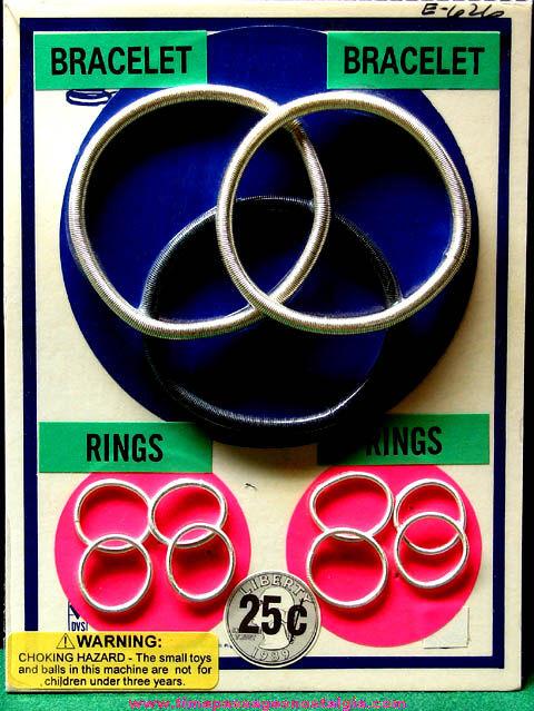 1989 Gum Ball Machine Prize Advertising Header Card