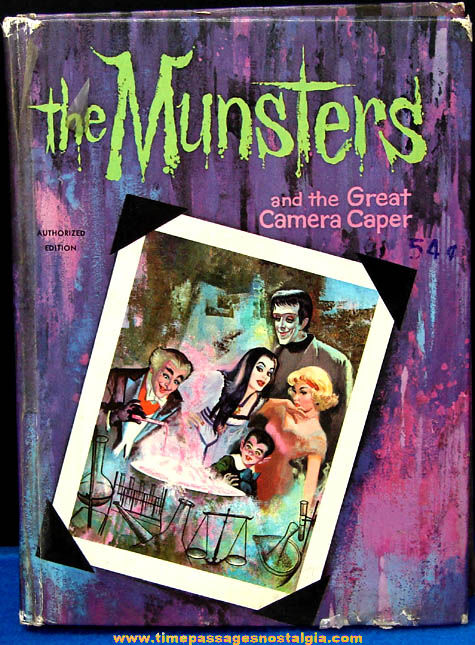 ©1965 The Munsters Great Camera Caper Whitman Book