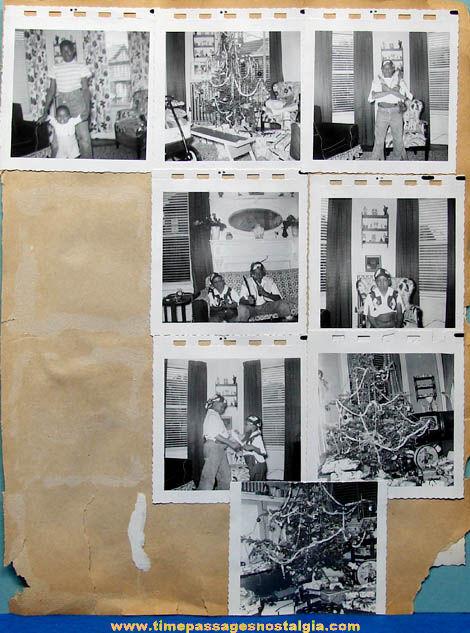 (17) Old Black & White Christmas Photographs