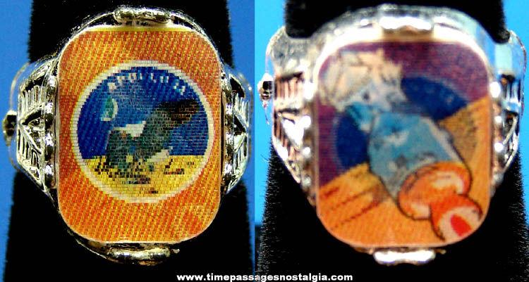 Unused Apollo 11 Space Mission Flicker Toy Ring