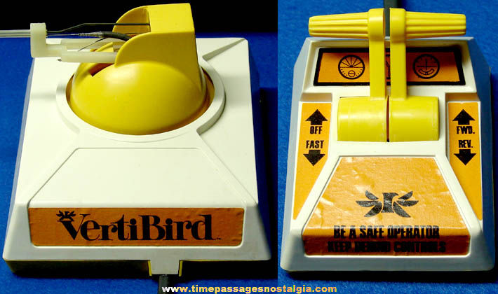 Boxed ©1971 Mattel Vertibird Helicopter Toy Set