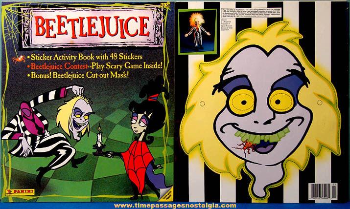 (2) ©1990 Beetlejuice Sticker & Activity Books