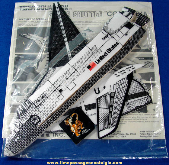 Old General Mills Cheerios Cereal Premium Space Shuttle Columbia Adventure Kit