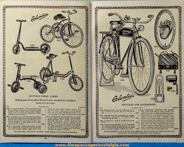 1930 - 1931 United Profit Sharing Coupons Advertising Premium Merchandise Catalog