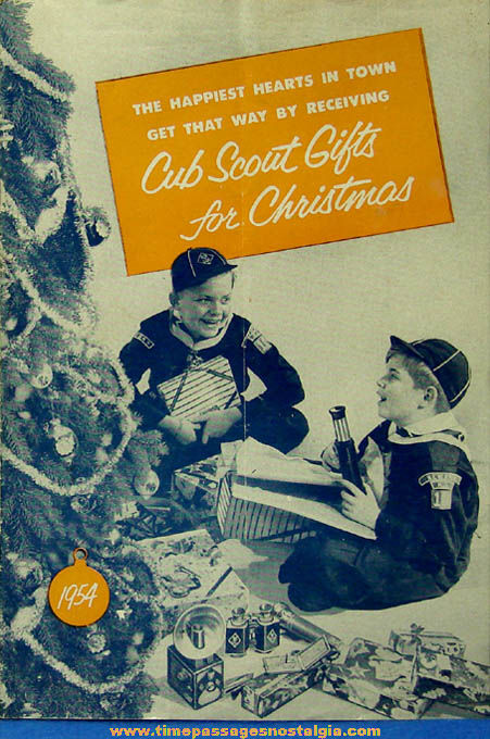 1954 Cub Scouts Christmas Gift Advertising Catalog