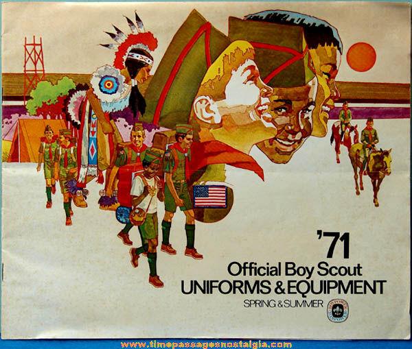 1971 Boy Scout Uniform & Equipment Advertising Catalog