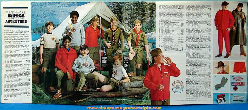 1971 Boy Scout Uniform & Equipment Advertising Catalog - TPNC
