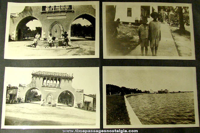 (94) 1926 Flagler & Daytona Beach Florida Photographs + Bonus Items