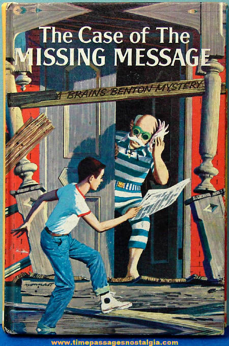 �1959 The Case of The Missing Message Brains Benton Mystery Book