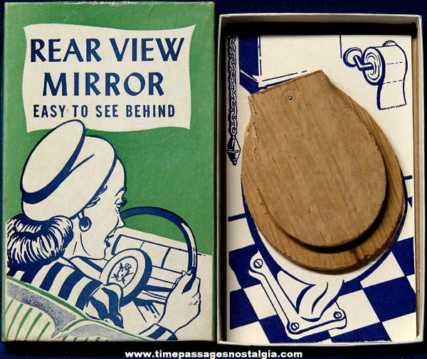 1947 fishlove rear view mirror prank joke gift box tpnc for Mirror jokes