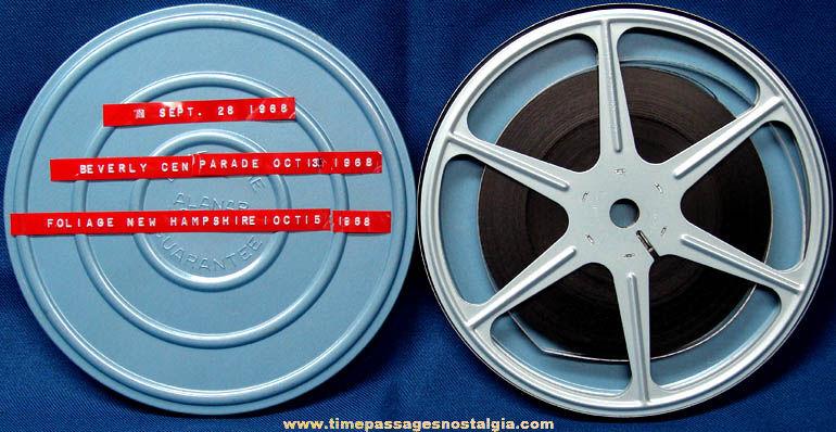 1968 Beverly Massachusetts 300th Anniversary Parade Home Movie Film