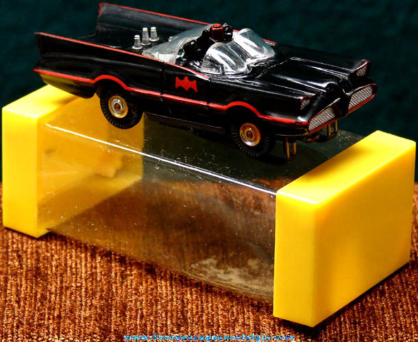 Boxed 1960s Batman Batmobile Aurora Slot Car