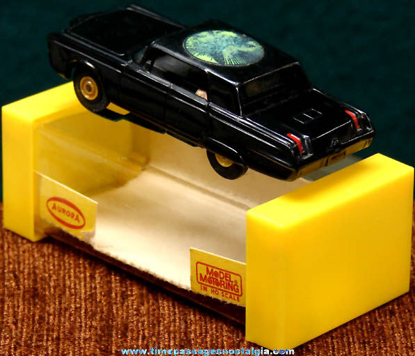 Boxed 1960s Green Hornet Black Beauty Aurora Slot Car