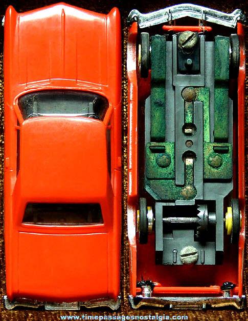 Boxed 1963 Red Buick Riviera Aurora Slot Car