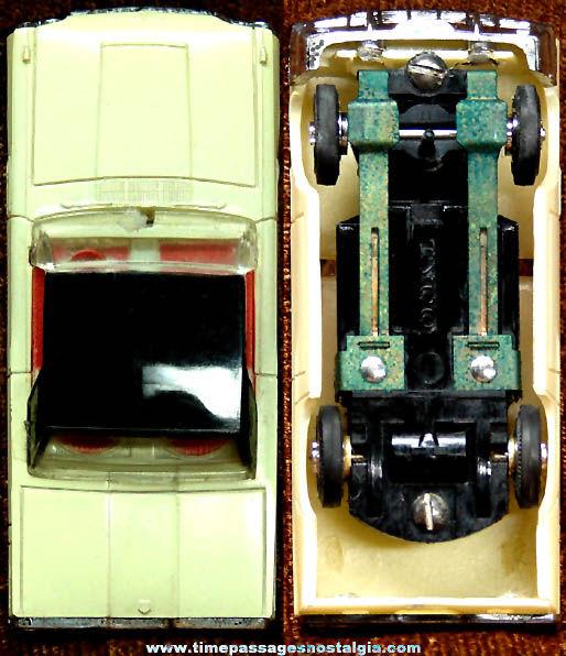 Boxed 1965 Black & White Ford Thunderbird Hard Top Tyco Slot Car