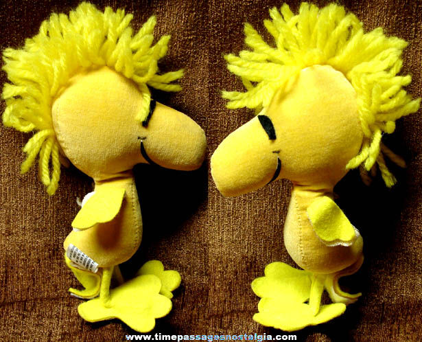 ©1972 Charles Schulz Peanuts Woodstock Comic Character Doll