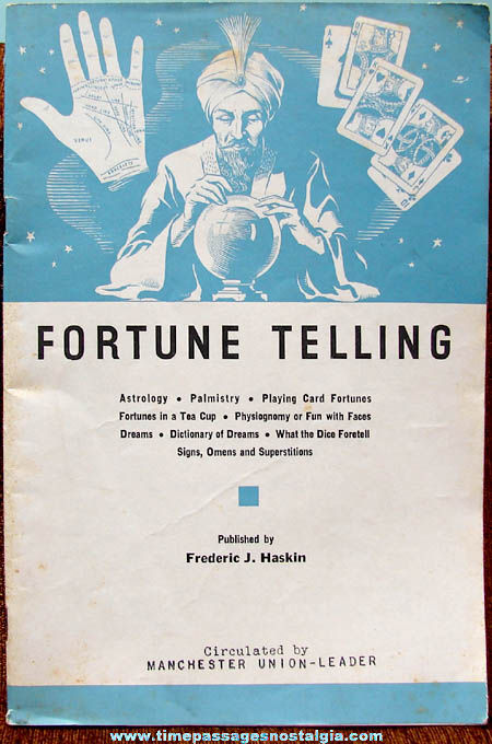 ©1937 Fortune Telling Book
