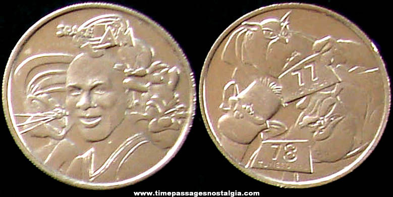 Warner Brothers Space Jam Cartoon Character Medal Coin