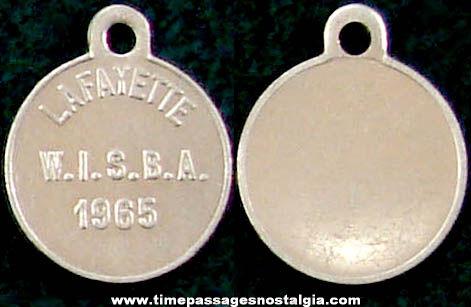 1965 Lafayette W.I.S.B.A. Advertising Souvenir Medallion Charm