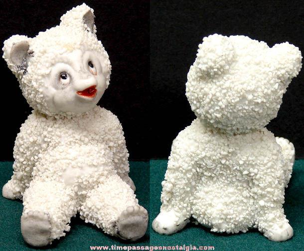 1951 Styson Porcelain Snow Baby Polar Bear Figurine