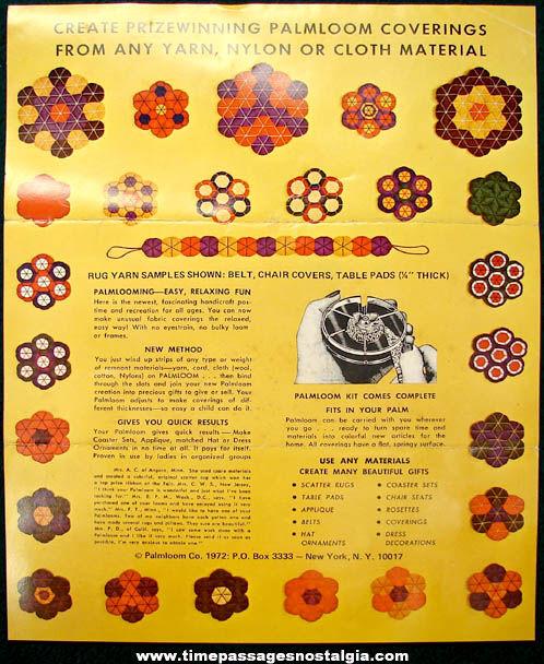Boxed ©1963 Knit Wit Pom Pon Miniatures Craft Kit