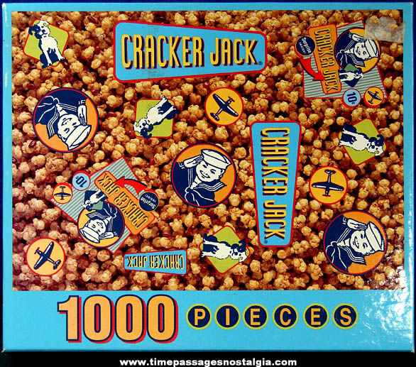 Boxed ©2003 Cracker Jack 1000 Piece Hoyle Jigsaw Puzzle