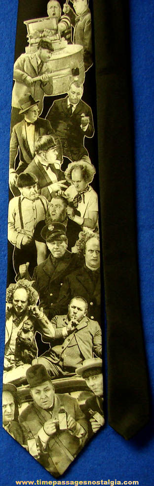 ©1994 Three Stooges Antics Ralph Marlin Neck Tie