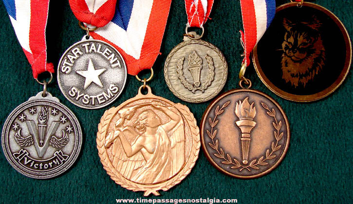 (6) Different Large Unidentified Event Award Medals