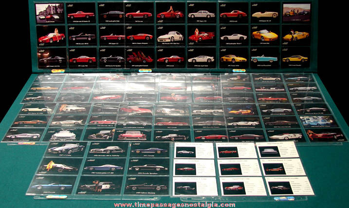 (99) 1992 Exotic Dreams Auto Trading Cards