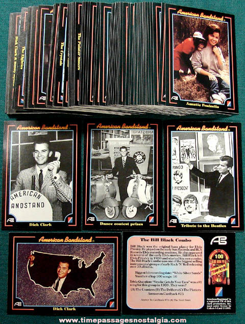 (92) ©1993 American Bandstand Music Trading Cards