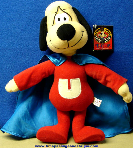 Large Underdog Cartoon Character Plush Toy Doll