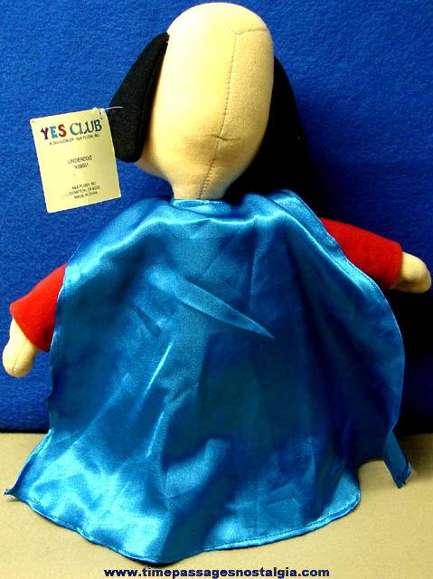 Large Underdog Cartoon Character Plush Toy Doll